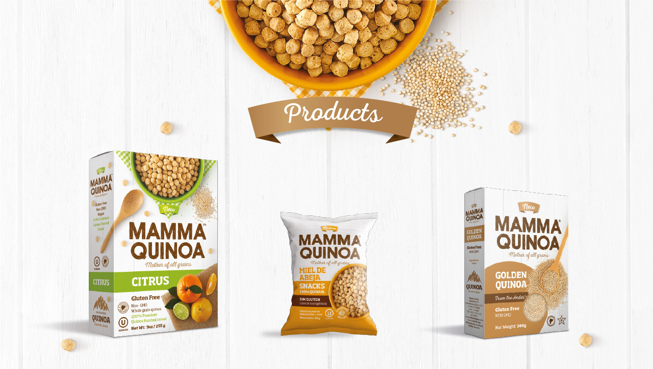 Mamma Quinoa Products