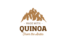 MADE WITH QUINOA FROM THE ANDES